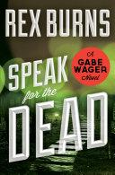 Speak for the Dead [Pdf/ePub] eBook