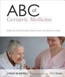 ABC of Geriatric Medicine