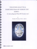 The Kuhns Analytical Searching Peak Of Tension Test  KSPOT   A New Polygraph Peak Of tension Test