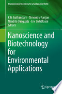 Nanoscience And Biotechnology For Environmental Applications Book PDF