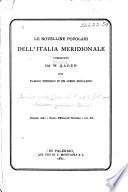 Le novelline popolari dell' Italia meridionale