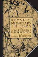 Keynes s Monetary Theory
