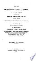 The New Semaphoric Signal Book