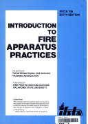 Introduction To Fire Apparatus Practices Book PDF