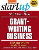 Start Your Own Grant Writing Business Book PDF