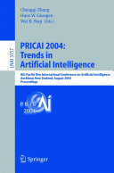 PRICAI 2004  Trends in Artificial Intelligence