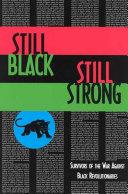 Still Black  Still Strong Book PDF