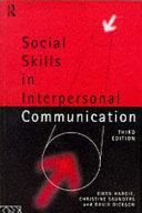 Social Skills in Interpersonal Communication