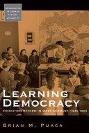 Learning Democracy
