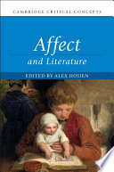 """Affect and Literature"" by Alex Houen"