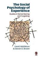 The Social Psychology of Experience Pdf/ePub eBook