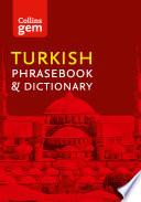 Collins Turkish Phrasebook and Dictionary Gem Edition ebook  Collins Gem