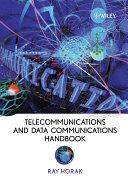 Telecommunications and Data Communications Handbook Pdf/ePub eBook