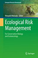Ecological Risk Management