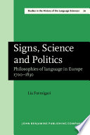 Signs, Science, and Politics