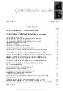 DB, Deutschland Berichte