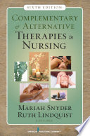 Complementary Alternative Therapies In Nursing Book PDF