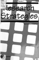 Research Strategies Book PDF