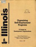 Organizing Self employment Programs