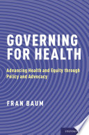 Cover of Governing for Health