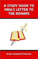 A Study Guide To St Paul S Letter To The Romans
