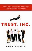 Trust, Inc. Book