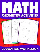 Math Education Workbook Geometry Activities Book