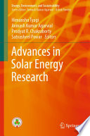Advances in Solar Energy Research
