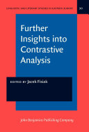 Further Insights into Contrastive Analysis