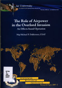 The Role of Airpower in the Overlord Invasion