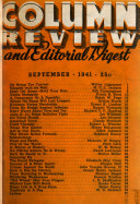 Column Review and Editorial Digest