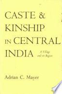 Caste Kinship In Central India Book PDF