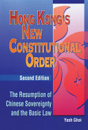 Hong Kong's New Constitutional Order