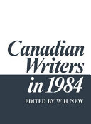 Canadian Writers in 1984