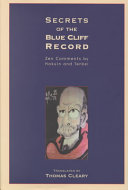 Secrets of the Blue Cliff Record Book