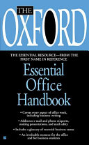 The Oxford Essential Office Handbook
