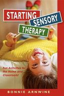 Starting Sensory Therapy