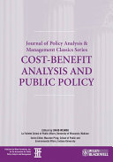 Cost Benefit Analysis and Public Policy Book