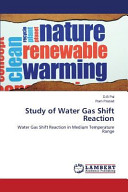 Study of Water Gas Shift Reaction Book