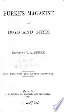 Burke's Magazine for Boys and Girls