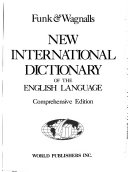 Funk   Wagnalls New International Dictionary of the English Language