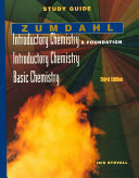 Study Guide for Introductory Chemistry : A Foundation/Introductory Chemistry/Basic Chemistry