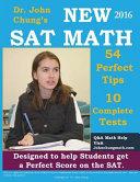 Dr  John Chung s New SAT Math Book