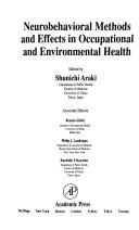 Neurobehavioral Methods And Effects In Occupational And Environmental Health Book PDF