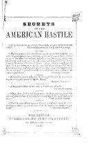 Secrets of the American Bastille