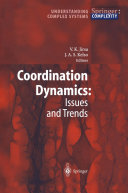 Coordination Dynamics: Issues and Trends Pdf/ePub eBook