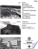 Continued Operation of Los Alamos National Laboratory Book