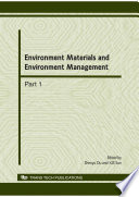 Environment Materials and Environment Management  EMEM2010