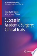 Success in Academic Surgery  Clinical Trials Book