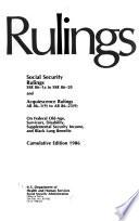 Social Security Rulings
